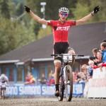 Jaroslav Kulhavý vyhrává závod světového poháru v Hafjellu