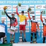 Stupně vítězů ČP XCO Bedřichov 2015
